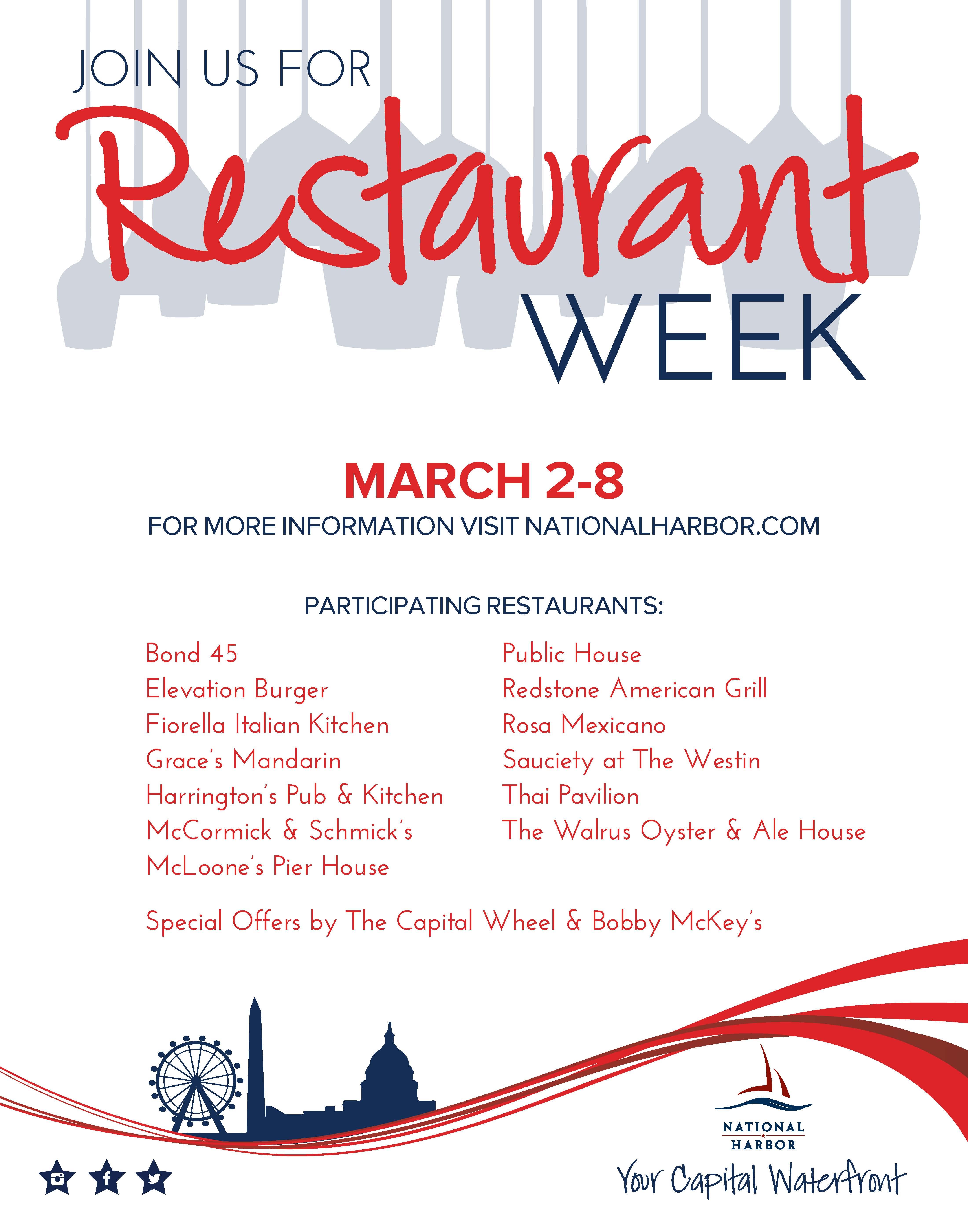 PG County Restaurant Week – ichoosecheverly