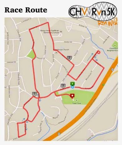 CHVRun2015-Route